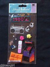 Jolee's Boutique Dimensional Stickers EK Success THE 80'S