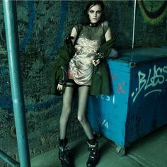 Glamorously Chaotic Editorials - This Numero Editorial Focuses on Feminine Grunge Fashion (GALLERY)