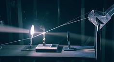 A Rube Goldberg Machine Powered by Light and Magnifying Glasses - This slick commercial for Japanese high-speed optical internet service au Hikari has a pretty novel take on the Rube Goldberg Machine. Each sequence in the device is powered (or otherwise set in motion) by a single beam of light sent through ... : thisiscolossal - 9/10/14