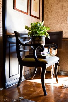 Vintage-Eclectic Foyer and Sitting Room Reveal - Domicile 37