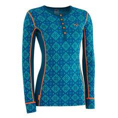 Kari Traa Rose W Merino Longsleeve grün blau We Wear, How To Wear, Ski Touring, Underwear Shop, Outdoor Wear, Longsleeve, Sport Outfits, Sportswear, Wool