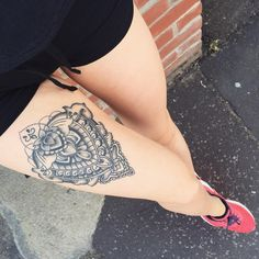 189 Most Attractive Thigh Tattoos For Women