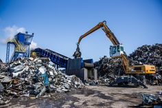 metal shredder Buffalo NY Scrap Recycling, Toys For Boys, Holland, Around The Worlds, Construction, Big Boys, Metal, Buffalo, Documentary