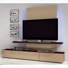 Interior Home Design Living Room. Living Room Nice Tv Wall Mounting Using Black Television White Wall Feature Cream Desk Elegant Tv Wall Mounting Ideas. Flat Screen Wall Mount, Diy Tv Wall Mount, Wall Mounted Tv, Mount Tv, Wall Unit Designs, Tv Unit Design, Tv Wall Design, Estilo Interior, Home Interior