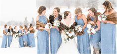Winter wonderland wedding   Allison Parker Photography