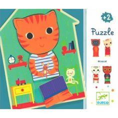 DJECO puzzel Mix a Cat 2 jr+