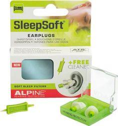 1. Alpine Sleep Soft Earplugs