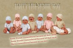 Anne Geddes and her baby pictures pics) Friendship Day Pictures, Friendship Day Wallpaper, Happy Friendship Day Quotes, Anne Geddes, So Cute Baby, Baby Love, Baby Shawer, Child Baby, Funny Babies