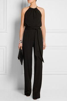 MICHAEL KORS Stretch-crepe jumpsuit $1,995