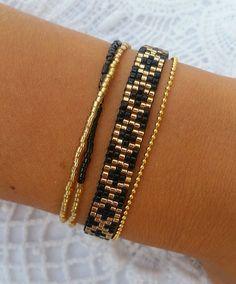 off loom beading stitches Loom Bracelet Patterns, Bead Loom Bracelets, Bracelet Crafts, Bead Loom Patterns, Beaded Jewelry Patterns, Woven Bracelets, Handmade Bracelets, Jewelry Bracelets, Handmade Jewelry