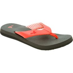 "Sanuk Yoga Mat Sandal - ""Like walking barefoot on a sea of Yoga mats"""