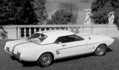 Ford's 1963 Mustang II concept car