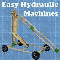 engineer engineering fun kid easy cheap awesome unique original project tape glue student stem steam simple hydraulic machine easy
