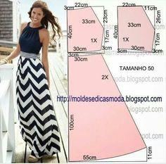 Longue robe été simple et efficace