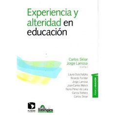 Experiencia y alteridad en educación Referencia  978-950-808-586-3 Condición:  Nuevo  La educación es el lugar de la relación, del encuentro con el otro. Es esto lo que es en primer lugar y por encima de cualquier otra cosa. Es esto lo que la hace ser, lo que le da posibilidad de ser.