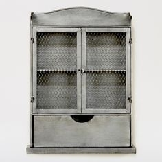 "WANT IT :: Jayden Wall Unit :: $49.99 | worldmarket.com :: [13.5""W x 18""H] metal :: This would be perfect in my bathroom."