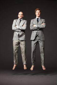 Johnny Lee Miller and Benedict Cumberbatch. SickBoy and Sherlock. Wish I had seen Frankenstein.