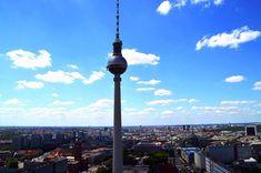 Reiseziele Deutschland: Berlin Cn Tower, Park, Building, Travel, Viajes, Buildings, Parks, Destinations, Traveling
