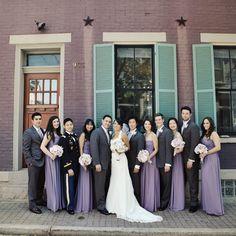 photo by: Amanda Julca Photography // bridesmaid dresses: bridal and formal inc