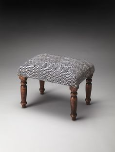 $199 Butler Manto Cotton Upholstered Stool 4290998 - Butler Manto Cotton Upholstered Stool 4290998SKU: 4290998Manufacturer: ButlerCollection: Accent SeatingCategory: BenchesColor: Mykonos NavyFinish UPC: 797379027522Material: Woven Cotton Print, Sheesham Wood Solids Dimension: 20W x 14D x 16H Inches,