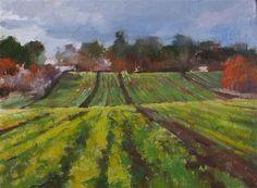 "Daily Paintworks - ""Beside the Path"" - Original Fine Art for Sale - © Deborah Tilby"