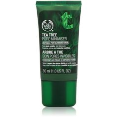 The Body Shop Tea Tree Oil Pore Minimizer, 1 Ounce ($42) ❤ liked on Polyvore featuring beauty products, skincare, face care, face cleansers and the body shop