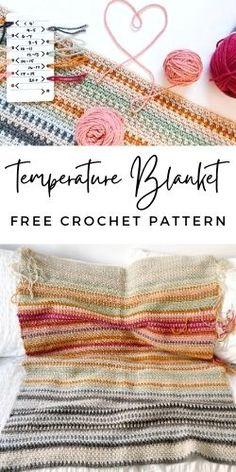 Granny Square Crochet Pattern, Afghan Crochet Patterns, Crochet Chart, Crochet Wool, Crochet Stitches, Free Crochet, Knitting Patterns, Modern Crochet Blanket, Modern Crochet Patterns