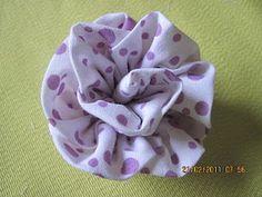 Flor de tecido..