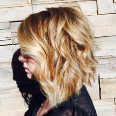 Tousled Wavy Hair: See the Best of Undone Chic on Instagram | Beauty High thinking of cutting my hair this short