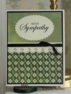 sympathy card by Diane's Sweet Treats - (Diane Burke), via Flickr