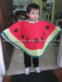 I decided to dress up as Watermelon this Halloween because it is my favorite fruit. I love to make my costume because its always fun and there are no copies.