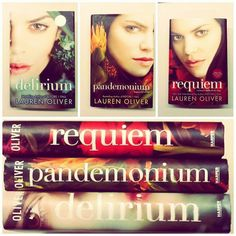 Delirium Series By Lauren Oliver Better than the Hunger Games, in my opinion..