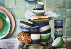 Nieuw servies - keramiek - HK Living - Myhomeshopping