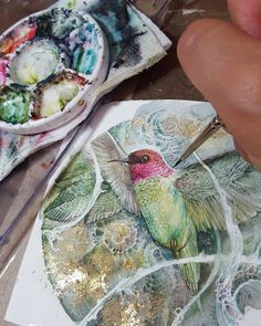 Shadowscapes - Stephanie Pui-Mun Law - This little one # hummingbird It will be available through . Watercolor Projects, Watercolor Artists, Watercolor Techniques, Watercolor And Ink, Art Techniques, Watercolor Flowers, Watercolor Paintings, Watercolours, Art And Illustration