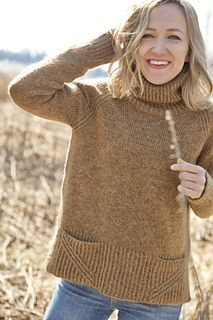 Sahra is a relaxed everyday sweater that is your best friend on chilly days. High turtle neck is a cool style statement but also really warm and can be worn in many ways. Wrap it if you want or hide behind it. If you prefer a basic crew neck or a trendy funnel neck, instructions are given for those too.
