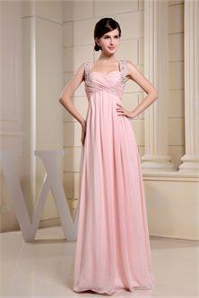 Floor-Length Chiffon Asymmetrical Pinkbridesmaid dresses,bridesmaid gowns,cheap bridesmaid dresses-P1-3-2-24