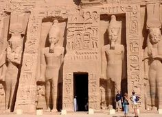 Nefatari's Temple at Abu Simbel