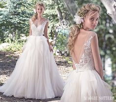 ballgowns with embellished bodices - Raeleigh by Maggie Sottero
