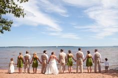 lake superior love » A Northwoods Wedding #BayfieldWeddings