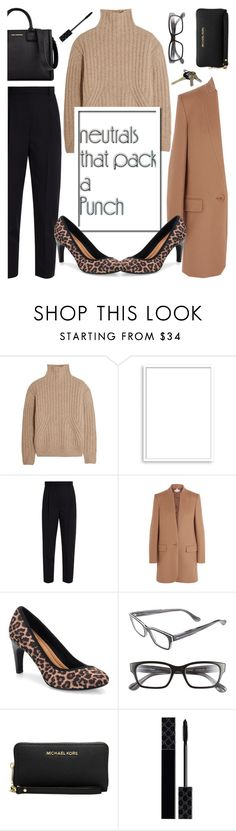 """""""Cool Neutrals..."""" by glamorous09 ❤ liked on Polyvore featuring Totême, Bomedo, Alexander McQueen, STELLA McCARTNEY, Corinne McCormack, Michael Kors, Gucci, Avon, Karl Lagerfeld and neutrals"""