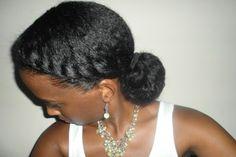 Twist and Bun | Black Girl with Long Hair