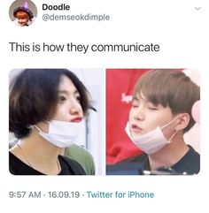 pictame webstagram we are figuring out their secret language 🙊 Bts Memes Hilarious, Bts Funny Videos, Hoseok, Seokjin, Namjoon, Foto Bts, Bts Photo, Bts Taehyung, Bts Jimin