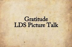 Gratitude I am Thankful Thanksgiving Picture Talk by SunBeamers