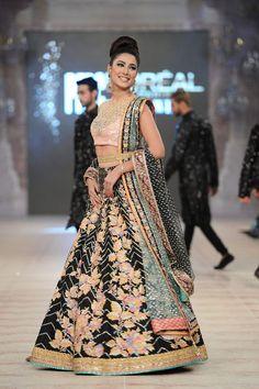 Nomi Ansari at #Pakistan Bridal Fashion Week 2014