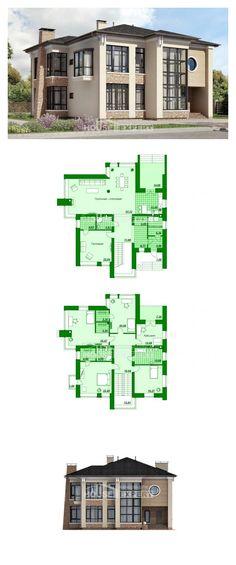 Ev villa projesi 300-005-L | House Expert