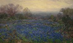 Untitled (Field of Bluebonnets) Julian Onderdonkn.d.