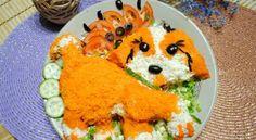 Салаты на 2018 год собаки — 2 рецепта http://god2018.gq/salaty-na-2018-god-sobaki-2-recepta/ #салат #собака #новыйгод #рецепт #кулинария #новогодний