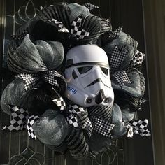 WELCOME to Parties Galore Are you a Star Wars Fan??? Then this is perfect for you! Great display for inside or outside your home. Buy it for