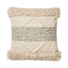 A woven tufted design with textured detailing, the Naxos cushion adds depth to your styling and will be a great feature accessory in any space. Living Room Cushions, Living Room Decor, Bedroom Decor, Cream Pillows, Throw Pillows, Cream Living Rooms, Home Republic, Diy Cushion, Loft Room