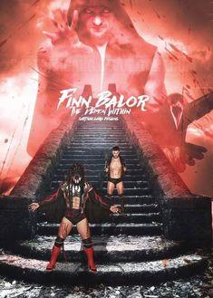Finn Balor Poster 2017 by SarthakGarg Wwe Seth Rollins, Balor Club, Best Wrestlers, Finn Balor, Charlotte Flair, Demon King, Aj Styles, Professional Wrestling, Wwe Superstars